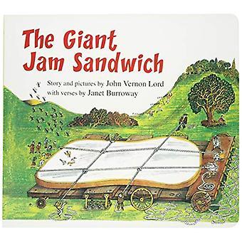 El sándwich gigante de Jam (vuelta libro) (leído a lo largo de libro y CD) [libro]