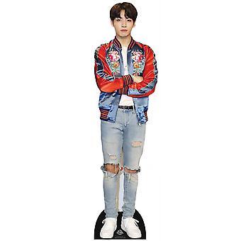 Jungkook de BTS Bangtan Boys Mini Carton Découpe / Standee / Standup