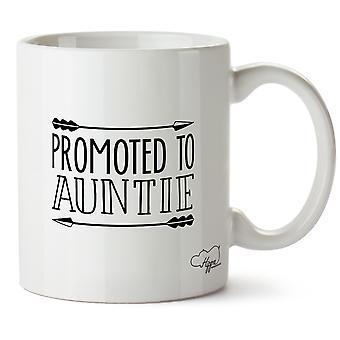 Hippowarehouse promu à ma tante imprimé Mug en céramique tasse 10oz