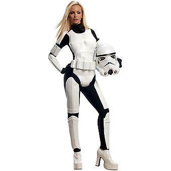 Stormtrooper Star Wars Frauen Kostüm