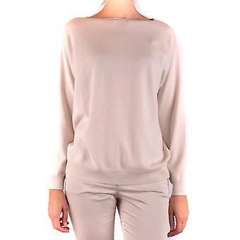 Brunello Cucinelli Ezbc002032 Women's Beige Cashmere Sweater