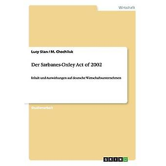 Der SarbanesOxley Act of 2002 by Stan & Lucy