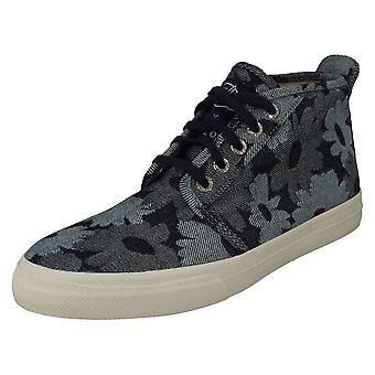 Mens Sperry Top-Sider Hallo Top Trainers Cloud Chukka Jacquard