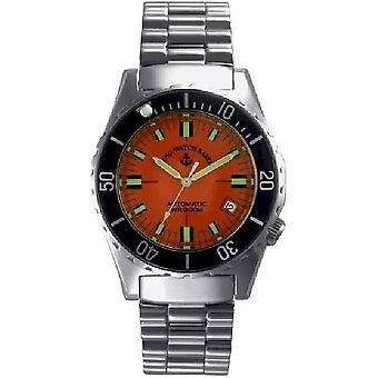Zeno-watch mens watch army diver automatic 485N-a5M
