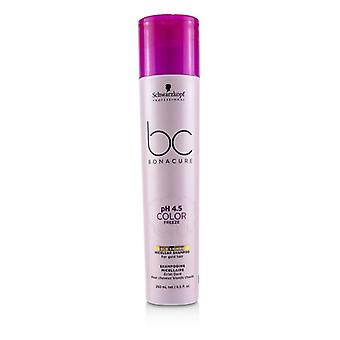 Schwarzkopf Bc Bonacure Ph 4.5 Color Freeze Gold Shimmer Micellar Shampooing (pour les cheveux d'or) - 250ml/8.5oz