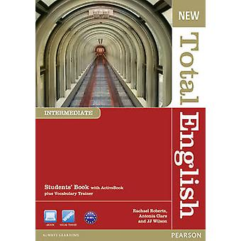 New Total English Intermediate Students' Book with Active Book Pack (