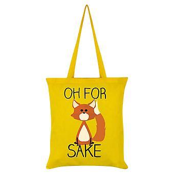 Grindstore Oh voor Fox sake Tote Bag