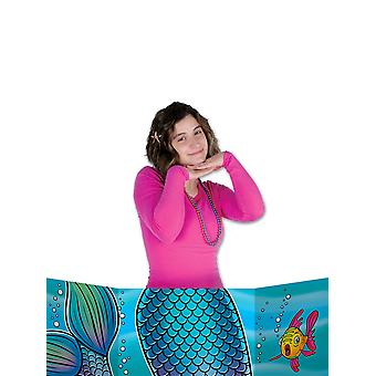 Sirena cola foto prop