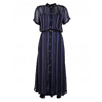 Nu Danmark stripete belte skjorte kjole