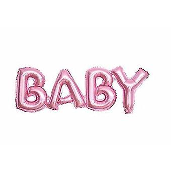 Large baby shower aluminum foil balloon kids birthday party decoration