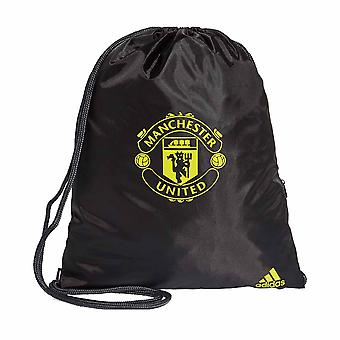 2019-2020 Man Utd Adidas Gym Bag (zwart)