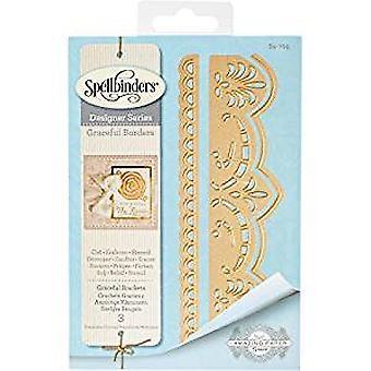 Spellbinders Graceful Brackets Designer Die (S4-705)
