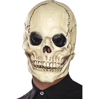 Maską czaszki czaszki w szczęce ruchomej Halloween
