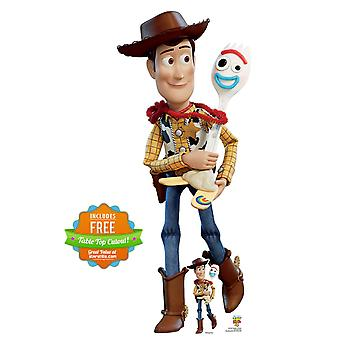 Woody and Forky Official Disney Toy Story 4 Lifesize Cardboard Cutout