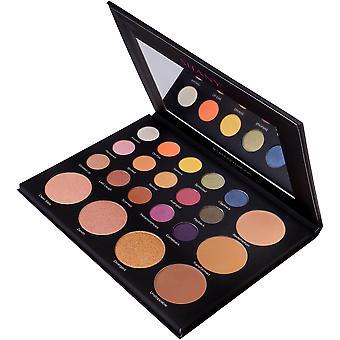 SHANY Revival Palette - 21-Farben Eye & Cheek Palette mit 15 Matt- und Schimmer-Lidschatten, 3 Bronzern und 3 Highlightern