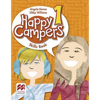 Happy Campers nivå 1 färdigheter bok av Angela Llanas - Elizabeth Willia