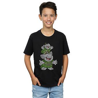 Disney jongens bevroren Handstacking Trolls T-shirt