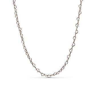 PANDORA zilveren vrouw hanger ketting-387961-60