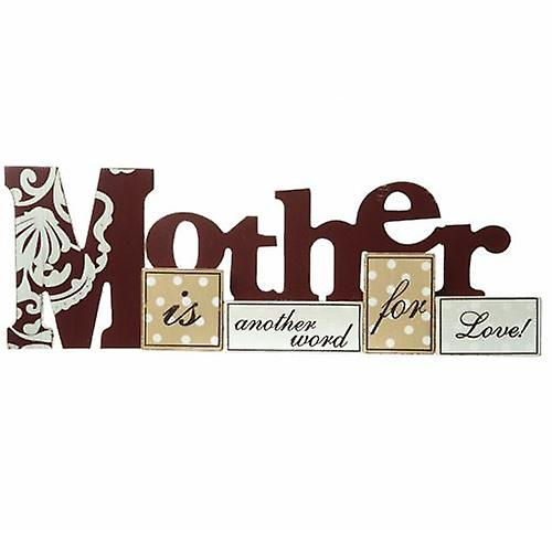Mother Large Table Top Word Block