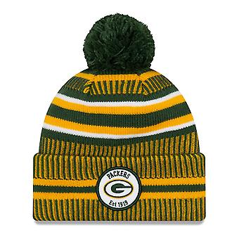 New Era Sideline Bommel Kinder Youth Mütze Green Bay Packers