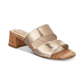 Alfani Womens Evviee Open Toe Casual Slide Sandals