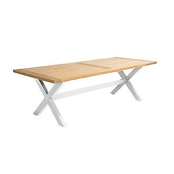 Beach7 | Moonlight tafel 240 x 100 x 76 |  Wit | tuinsets