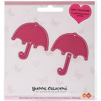 Find It Trading Yvonne Creations Love Die-Umbrella