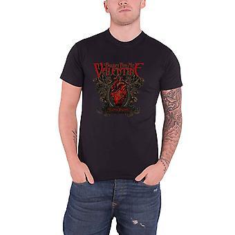 Bala para o meu Valentine Mens camiseta preto temperamento temperamento oficial