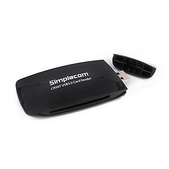 Simplecom SuperSpeed USB 3.0 All In One Card Reader w/ CF 4 Slots