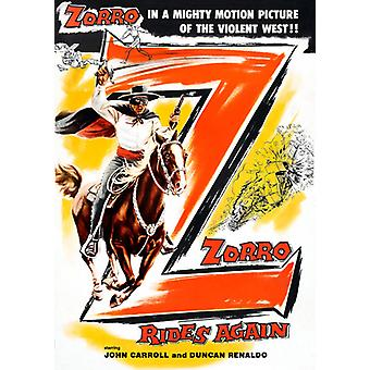 Zorro Rides Again [DVD] USA import
