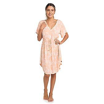 Rip Curl Daisy Kington Dress in Peach Nectar