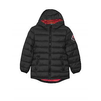 Moose Knuckles Junior Black Puffer Jacket