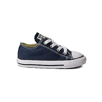 Converse Chuck Taylor All Star Ox 7J237C Navy Canvas Unisex Lace Up Shoes