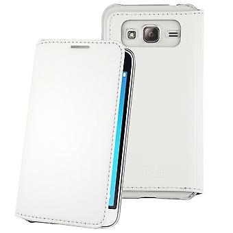 Case For Samsung Galaxy J1 (2016) White Without Closing Clip