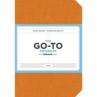 GoTo Notebook with Mohawk Paper Persimmon Orange Lined