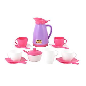 Polesie Toy Harness 40626, 16-piece coffee set plate, cups, cutlery