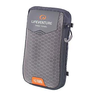 Lifeventure Grey HydroFibre Towel Large