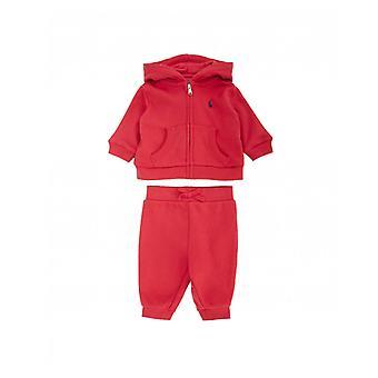 Polo Ralph Lauren childrenswear cu glugă zip prin trening