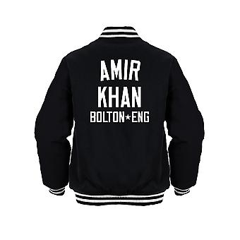 Amir Khan Boxing Legend Kids Jacket