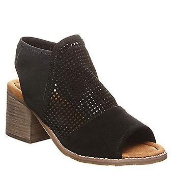 Bearpaw Verona Women's Heeled Sadnal Black - 6.5 Medium, Black, Size 6.5