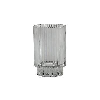 Light & Living Tealight 8.5x13cm - Philon Glass Grey