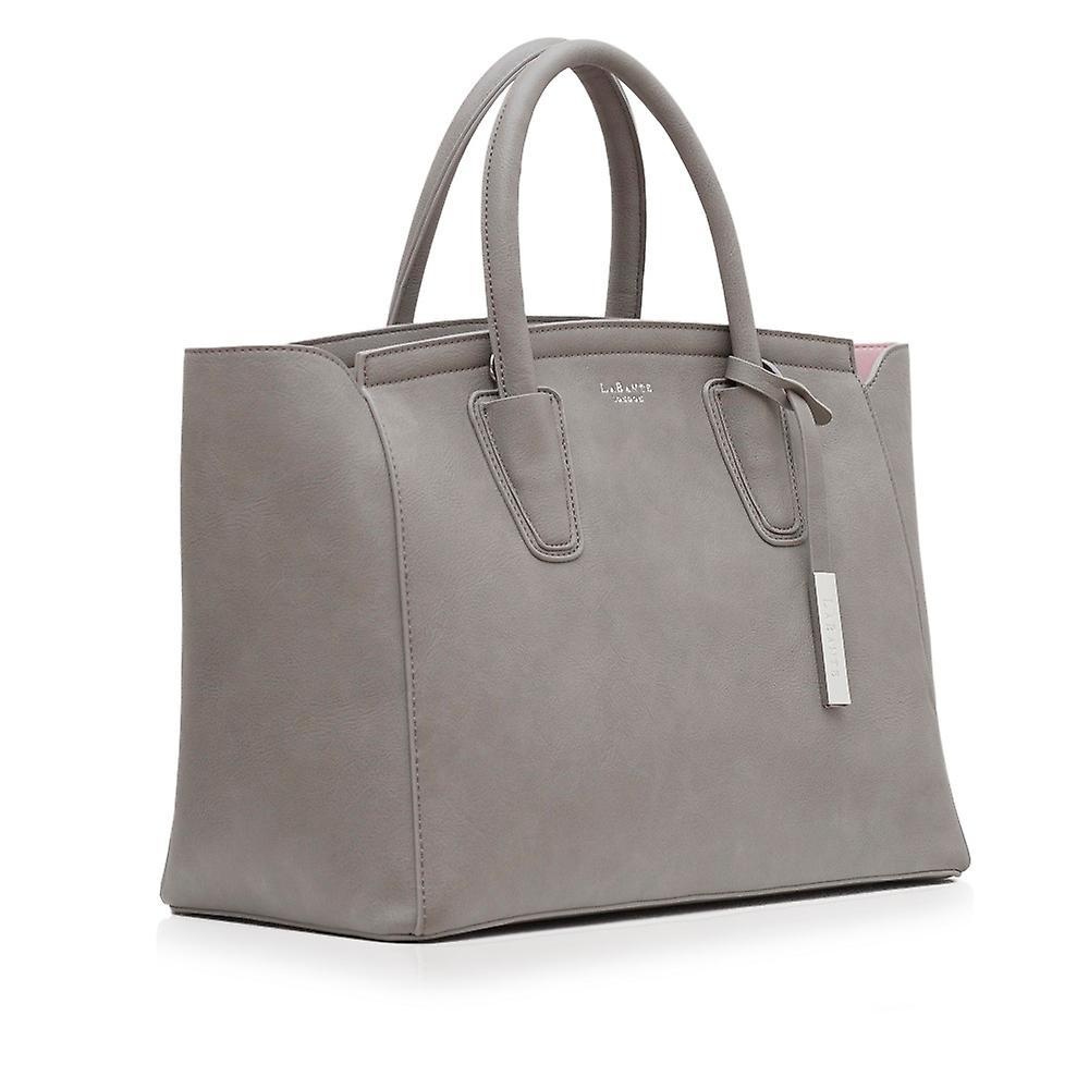 Grant Vegan Grey Carryall Bag