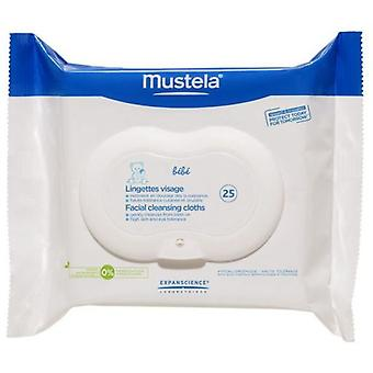 Mustela Face Wipes 25 units (Baby & Toddler , Diapering , Baby Wipes)