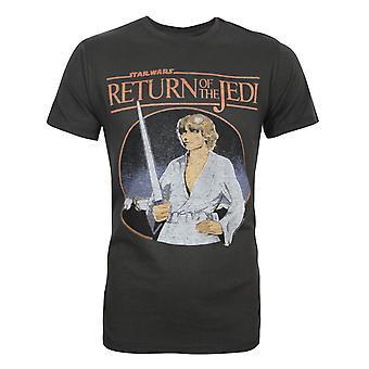 Junk Food Star Wars Retorno dos Jedi Men'camiseta