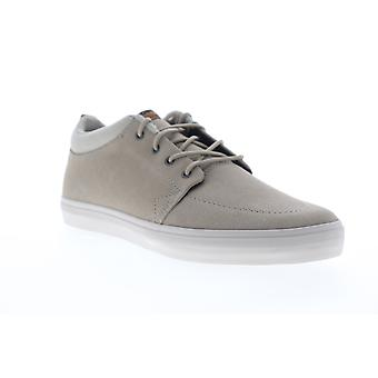 Globe GS Chukka  Mens Gray Suede Lace Up Athletic Skate Shoes