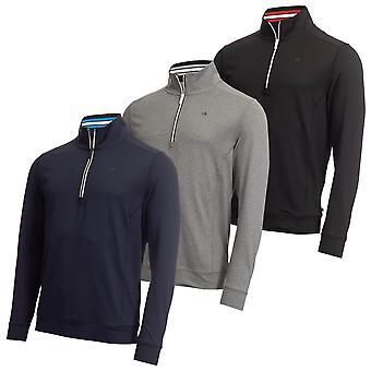 Calvin Klein Herren 2021 Orbit Half Zip Leichtgewicht Golf Pullover