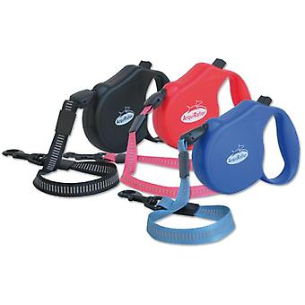 Arquivet Arqui Roller Classic-2, Red (Dogs , Collars, Leads and Harnesses , Leads)