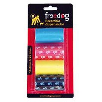 Freedog Replacement Dispenser (4 Coils X 20 Bags)