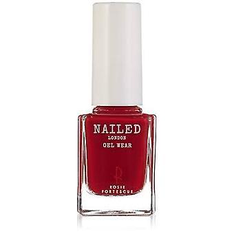 Nailed London Gel Wear Nail Polish 10ml - Rosie's Red