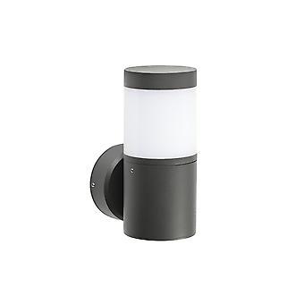 Faro Plim - Utendørs LED 2 Vegglampe Mørk Grå 10W 3000K IP65 - FARO71296